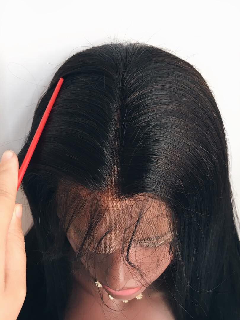 Lace Frontal Wig 100 Virgin Hair Wigs 150 Density